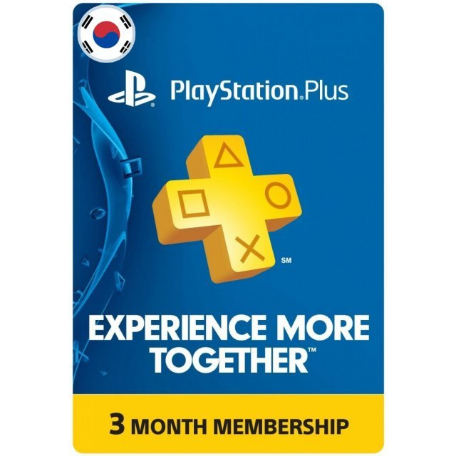 PSN Card 3 Month | PlayStation Plus Korea
