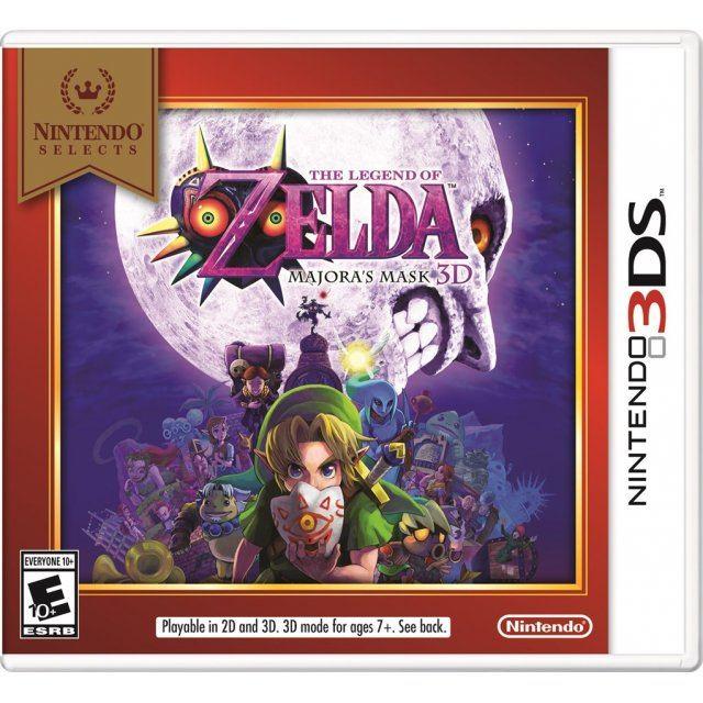 The Legend of Zelda: Majora's Mask 3D (Nintendo Selects)