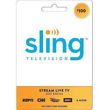 Sling TV Gift Card 100 USD | US Account
