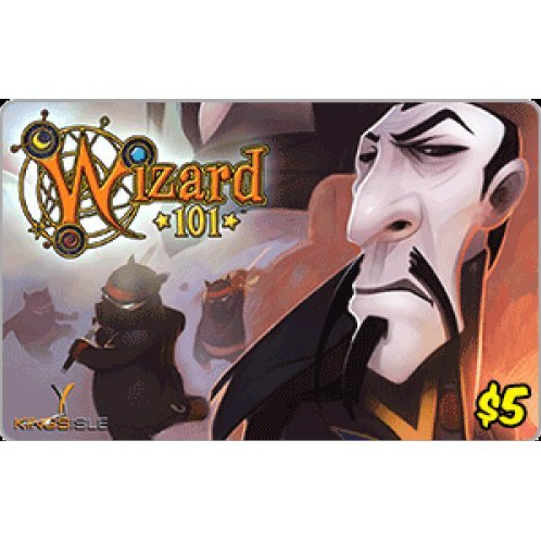 KingIsle Wizard 101 Crowns (USD 5 / for US accounts only) digital