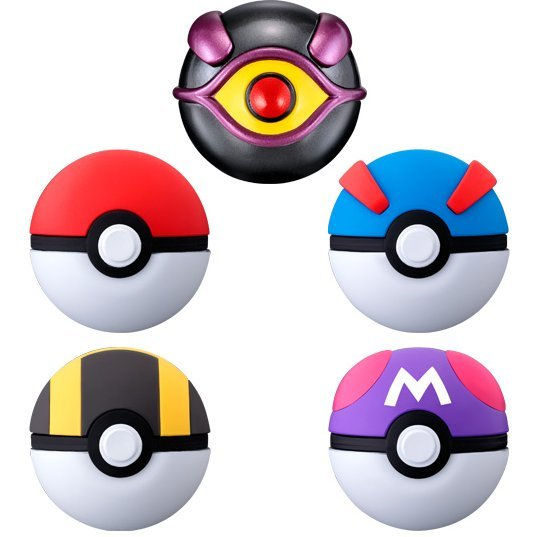 Pocket Monsters Ball Collection Mewtwo (Set of 8 pieces)