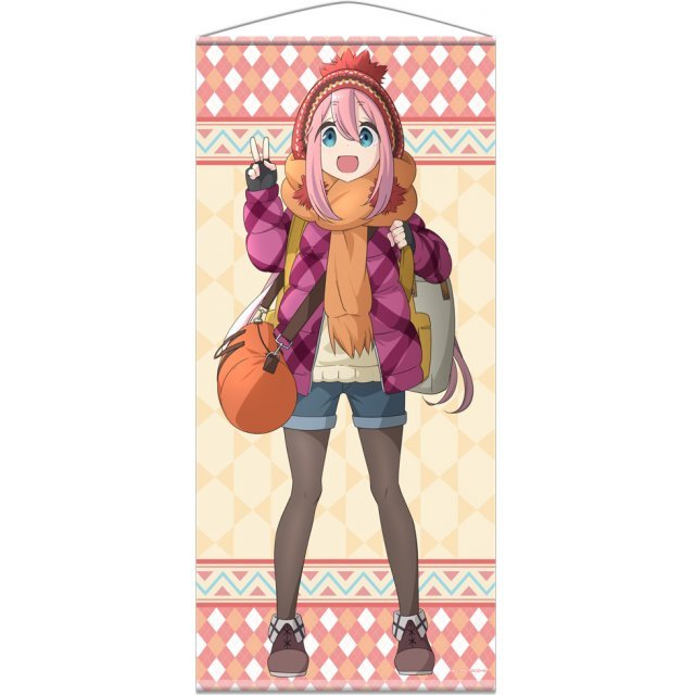 Yuru Camp Almost Life-size Wall Scroll: Nadeshiko Kagamihara