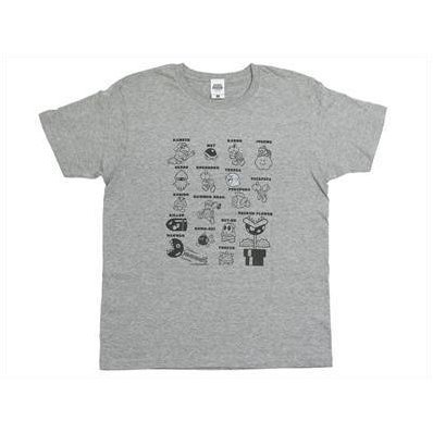 Super Mario MA04 T-shirt - Enemy Characters (L Size)