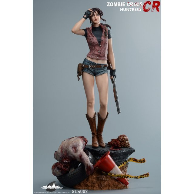 Resident Evil 1/4 Scale Statue: Zombie Crisis Huntress Claire Redfield