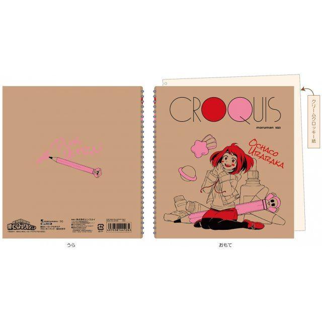 MY HERO ACADEMIA CROQUIS BOOK 3 - OCHACO URARAKA