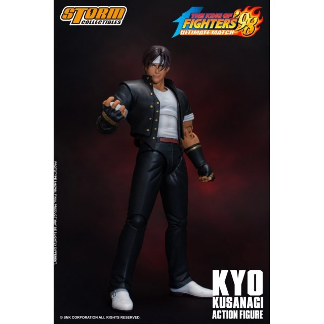 The King of Fighters '98 Ultimate Match Pre-Painted Action Figure: Kyo Kusanagi