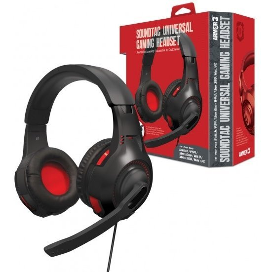 Armor3 SoundTac Universal Gaming Headset