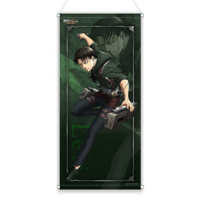 Attack on Titan Original Illustration Almost Life-size Wall Scroll: Levi
