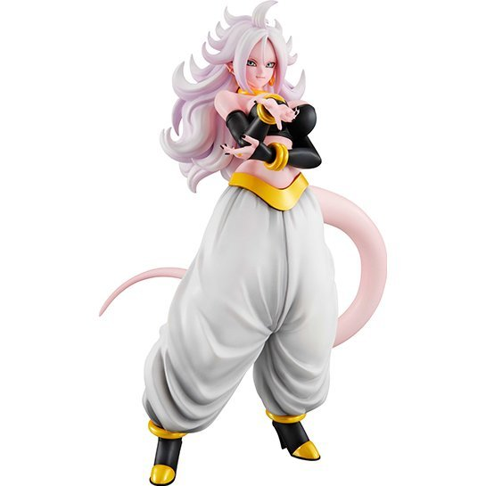 Dragon Ball Gals Dragon Ball FighterZ Pre-Painted PVC Figure: Android 21 Transformed Ver.