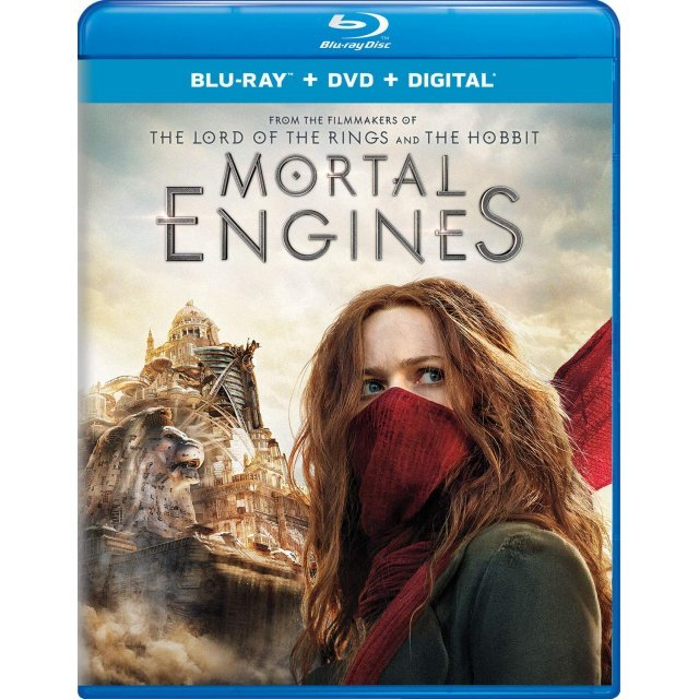 Mortal Engines [Blu-ray+DVD+Digital HD]