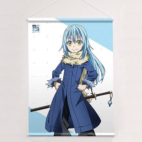 That Time I Got Reincarnated as a Slime B2 Wall Scroll: Rimuru (Re-run)