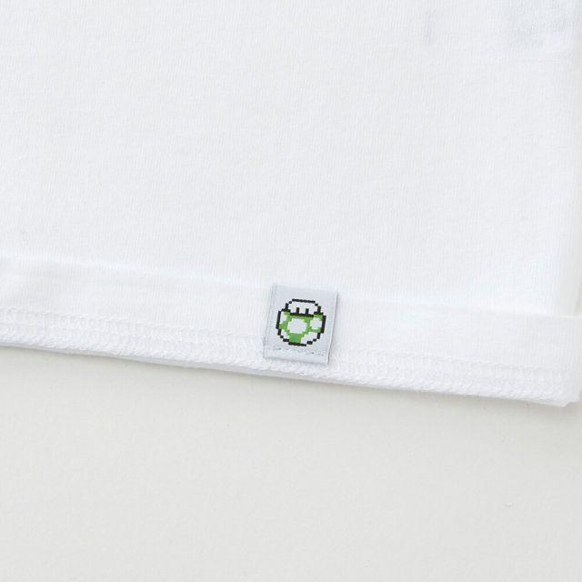 85437fa96 UT Nintendo Super Mario Family Museum - Title Screen Women's T-shirt White  (M Size). Uniqlo