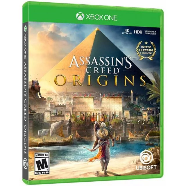 Assassin's Creed Origins (Spanish Cover)