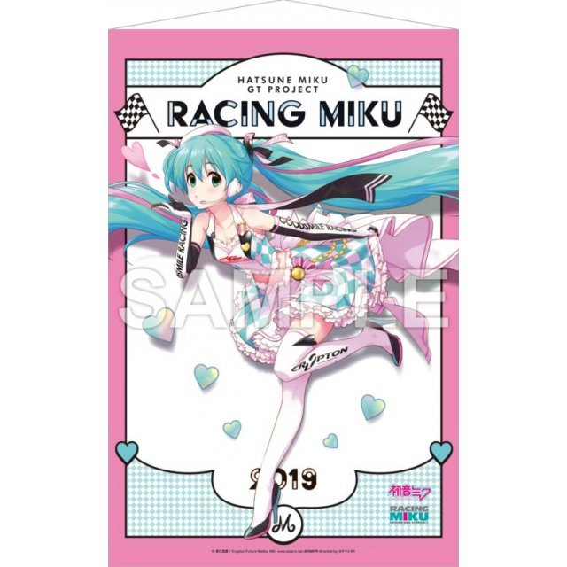 Hatsune Miku Gt Project Wall Scroll 2 Hatsune Miku Racing Ver 2019