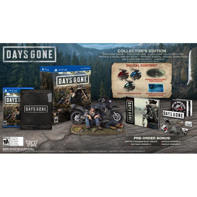 Days Gone [Collector's Edition] (Multi-Language)