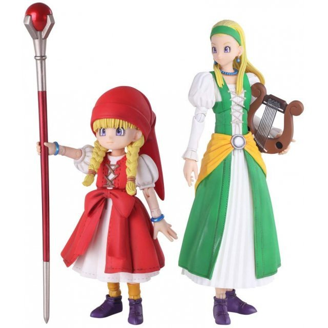 Dragon Quest XI Sugisarishi Toki wo Motomete Bring Arts: Veronica & Senya