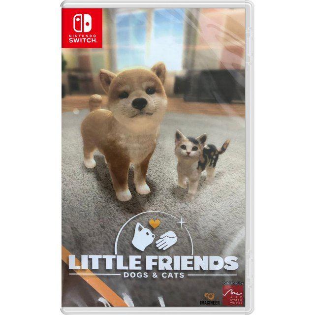 Little Friends: Dogs & Cats (Multi-Language)