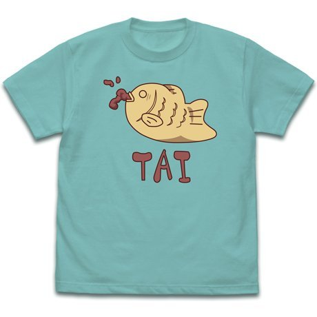 Wataten! An Angel Flew Down To Me - Taiyaki T-shirt Mint Green (S Size)