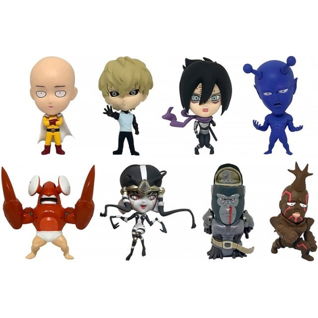 16d Collectible Figure Collection: One Punch Man Vol. 1 (Set of 8 pieces)