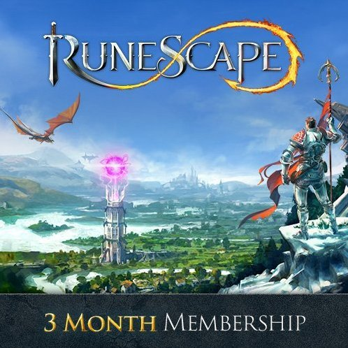 RuneScape 3 Month Membership