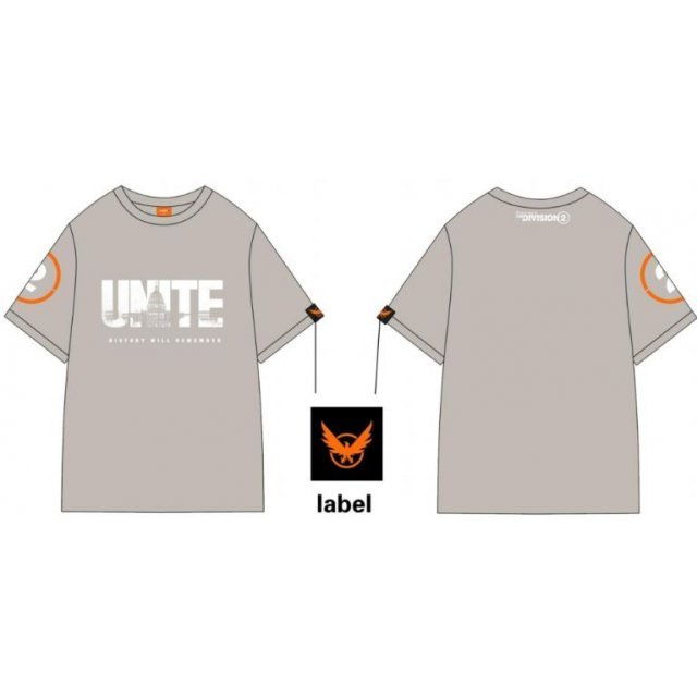 Tom Clancy's The Division 2 Unite T-shirt (S Size)
