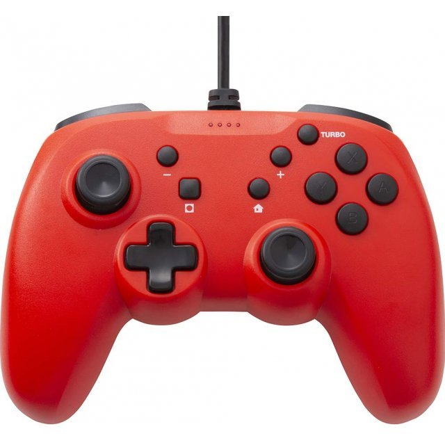 CYBER · Gyro Controller Light Wired Type (Red)