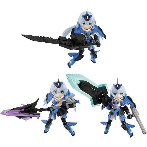 Desktop Army Frame Arms Girl KT-116f Stylet Series (Set of 3 pieces)