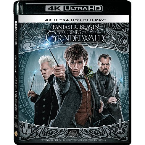Fantastic Beasts: The Crimes of Grindelwald Extended Cut (4K UHD+2D) (2-Disc)