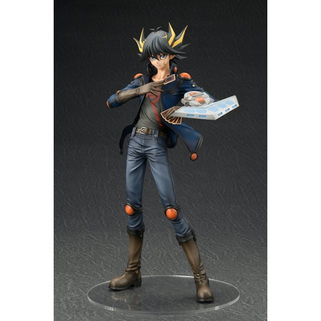 Yu-Gi-Oh! 5D's 1/7 Scale Pre-Painted Figure: Yusei Fudo