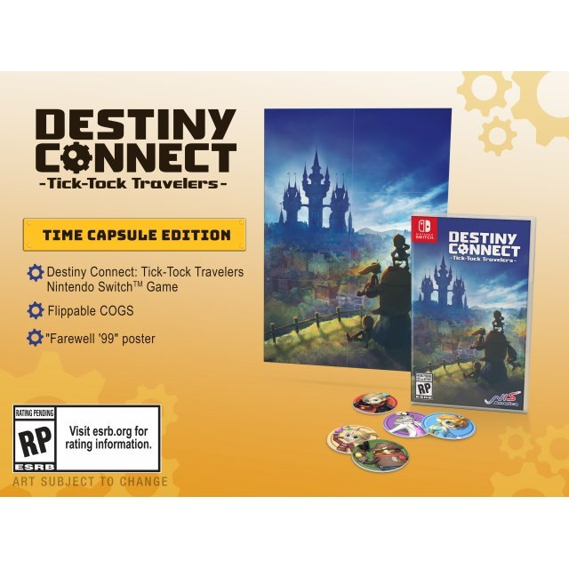 Destiny Connect: Tick-Tock Travelers [Time Capsule Edition]