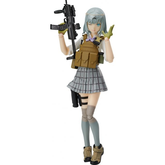 FIGMA SP-116 LITTLE ARMORY: RIKKA SHIINA SUMMER UNIFORM VER