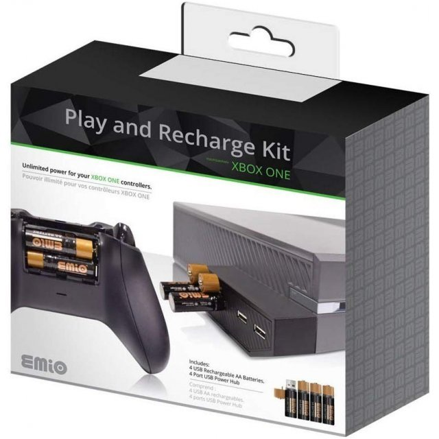 Play and Recharge Kit (Black)