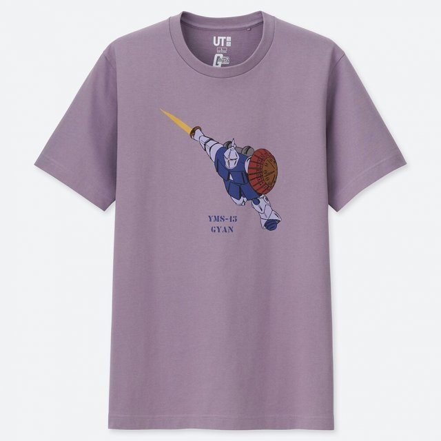 UT Mobile Suit Gundam 40th Anniversary - YMS-15 Gyan T-shirt Purple (XL Size)