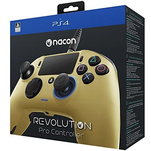Nacon Revolution Pro Controller for Playstation 4 (Gold)
