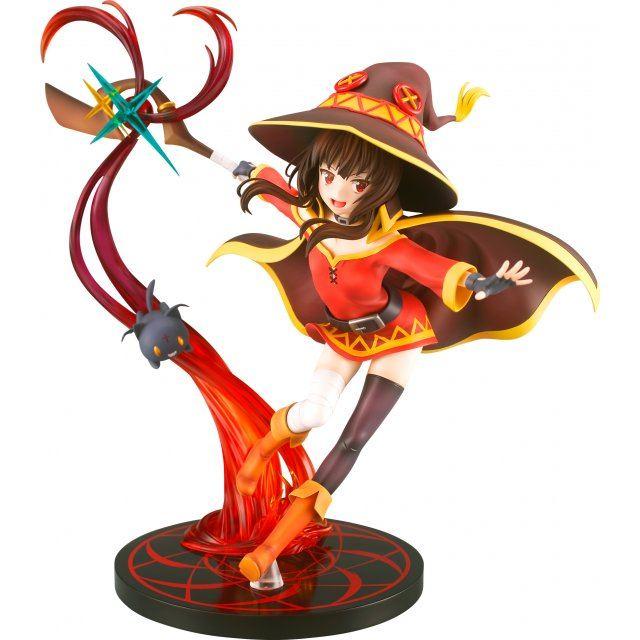 Kono Subarashii Sekai ni Shukufuku Wo! Kurenai Densetsu 1/7 Scale Pre-Painted Figure: Megumin Explosion Magic Ver.