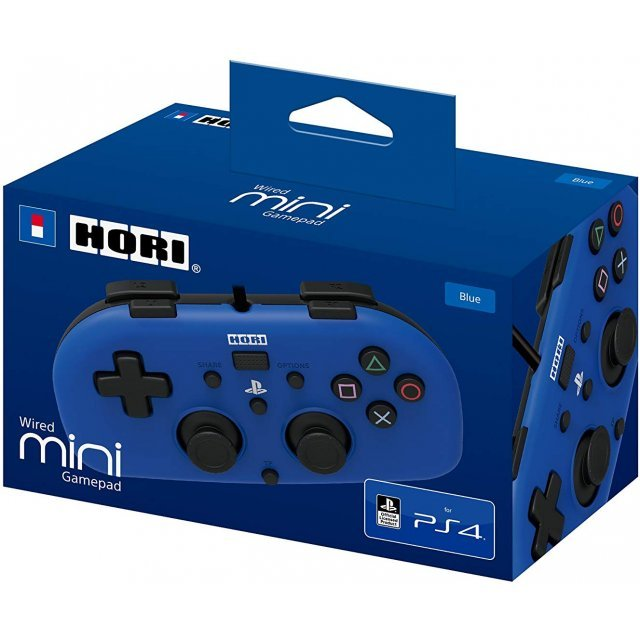 Hori Mini Wired Gamepad for PlayStation 4 (Blue)