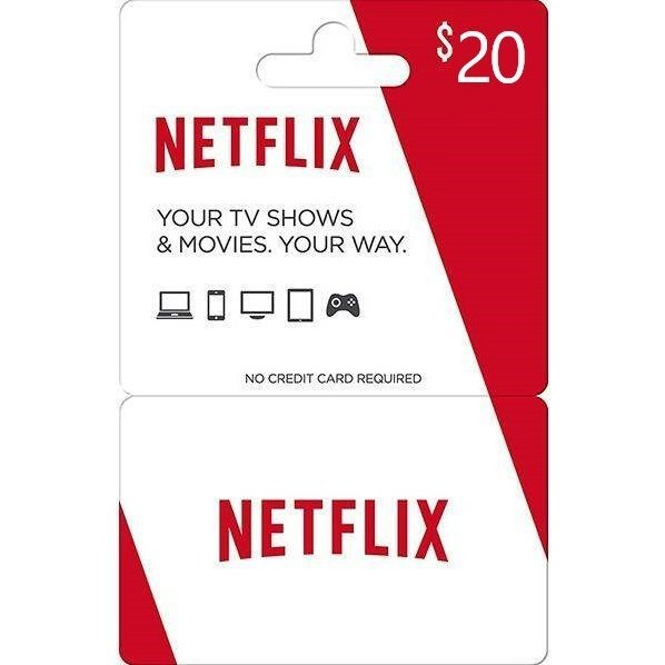 Netflix Gift Card 20 USD | US Account