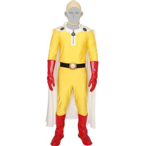 One Punch Man - Saitama Men's Costume Set (Free Size)