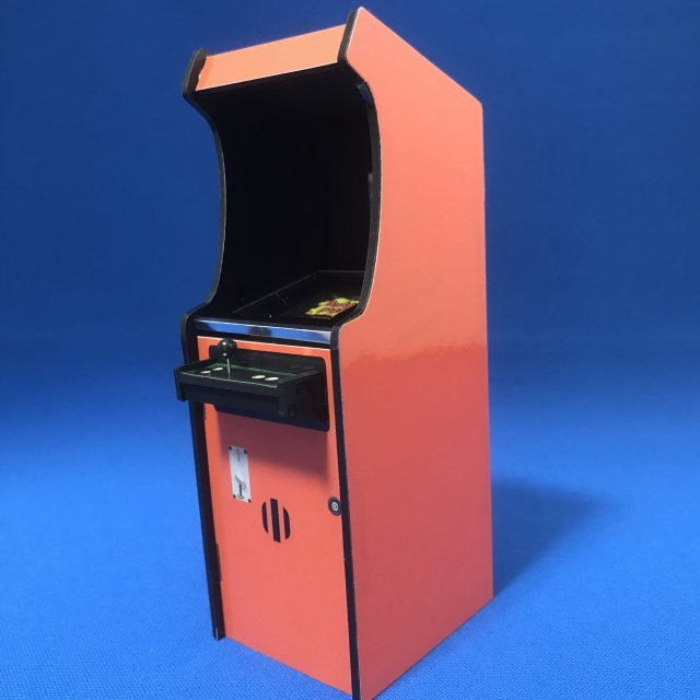 1/12 Retro Upright Cabinet Taito Set