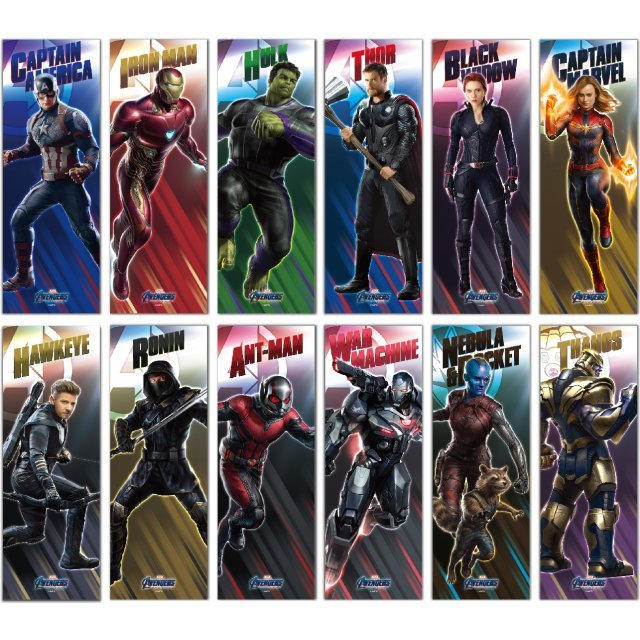 AVENGERS: ENDGAME CHARACTER POSTER COLLECTION (SET OF 6 PACKS)