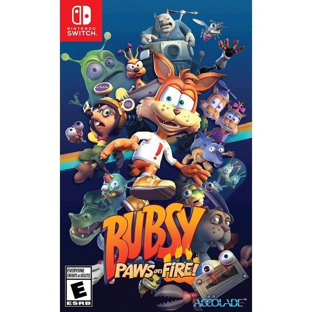 Bubsy: Paws on Fire (Multi-Language)