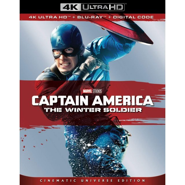 Captain America: The Winter Soldier [4K Ultra HD Blu-ray]