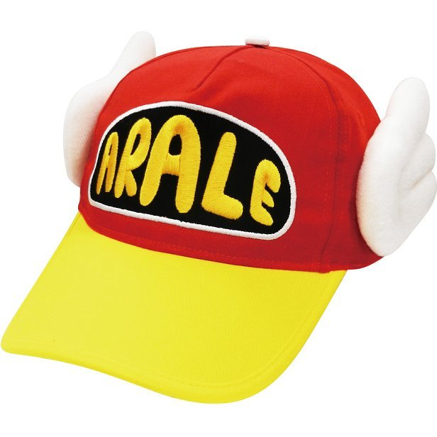 Dr. Slump Arale-chan Cap Red