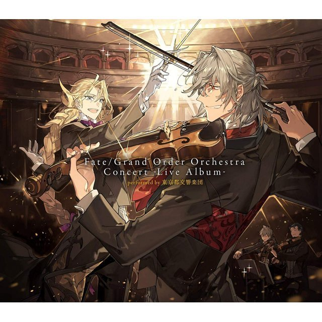 Fate/Grand Order Orchestra Concert - Live Album Performed By Tokyo Metropolitan Symphony Orchestra [Limited Edition]