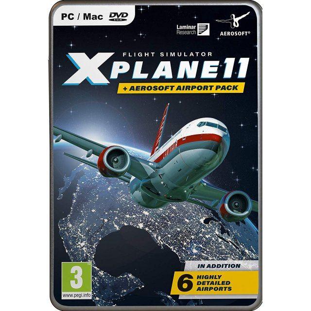 Flight Simulator X-Plane 11 + Aerosoft Airport Pack (DVD-ROM)