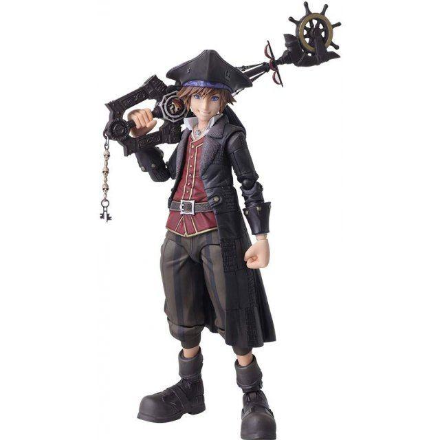 Kingdom Hearts III Bring Arts: Sora Pirates of the Caribbean Ver.
