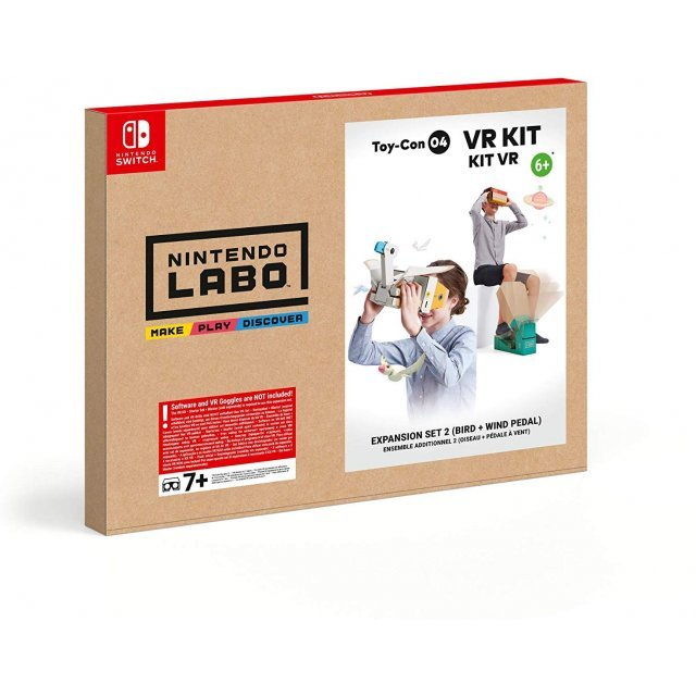 Nintendo Labo Toy-Con 04 VR Kit (Bird + Wind Pedal)