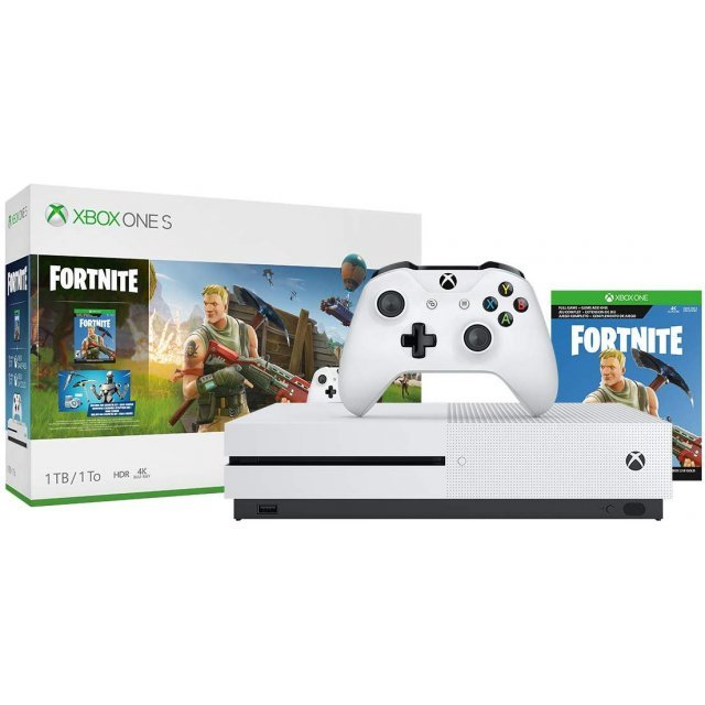 Xbox One S Fortnite Bundle (1TB Console)