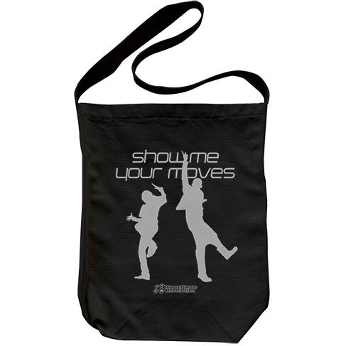 Dance Dance Revolution - Show Me Your Moves Shoulder Tote Bag Black