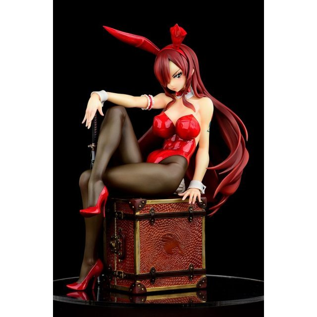 FAIRY TAIL 1/6 SCALE PRE-PAINTED FIGURE: ERZA SCARLET BUNNY GIRL_STYLE / TYPE ROSSO